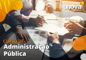 Administração Pública - EDITÁVEL
